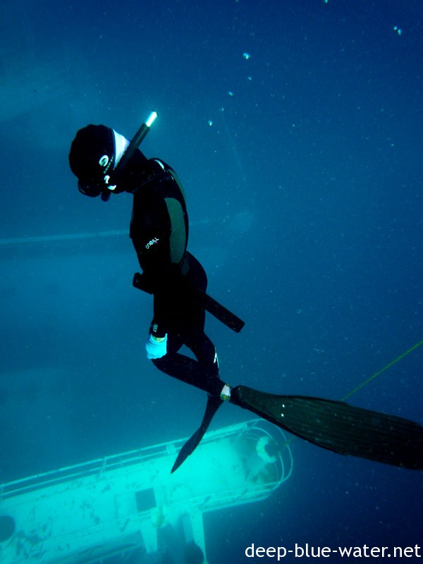 Freediving the Vandenberg