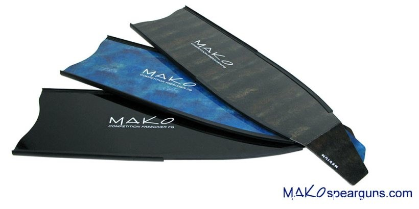 Omer Stingray Pockets and Mako Fiberglass fins Medium